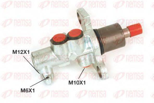 REMSA C102539 Главный тормозной цилиндр