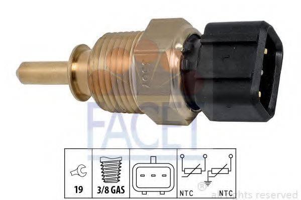 Датчик, температура охлаждающей жидкости FACET 7.3367