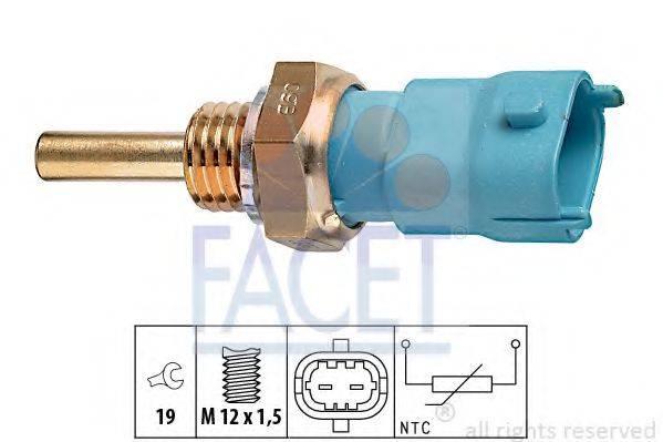 Датчик, температура охлаждающей жидкости FACET 7.3239