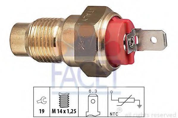 Датчик, температура охлаждающей жидкости FACET 7.3203