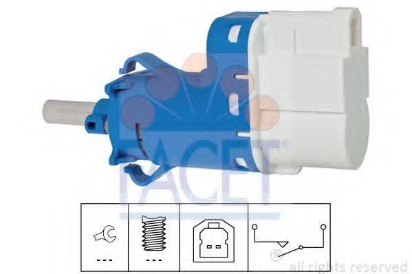 FACET 71237 Выключатель фонаря сигнала торможения