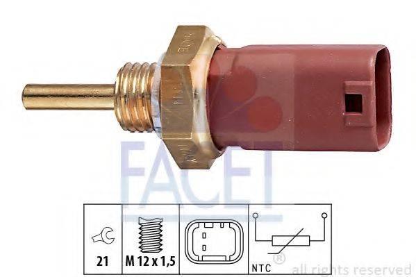 Датчик, температура охлаждающей жидкости FACET 7.3242