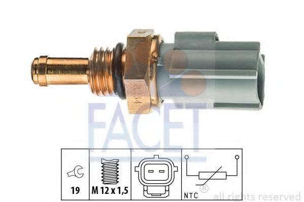 Датчик, температура охлаждающей жидкости; Датчик, температура топлива FACET 7.3234
