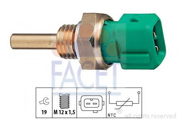 FACET 73211 Датчик, температура охлаждающей жидкости