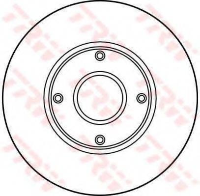 TRW DF2713 Тормозной диск