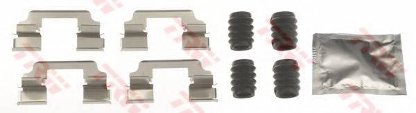 TRW PFK660 Комплектующие, колодки дискового тормоза