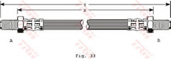 TRW PHC152 Тормозной шланг