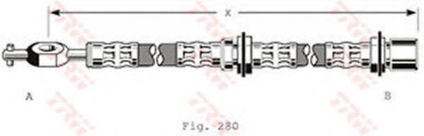 TRW PHD184 Тормозной шланг