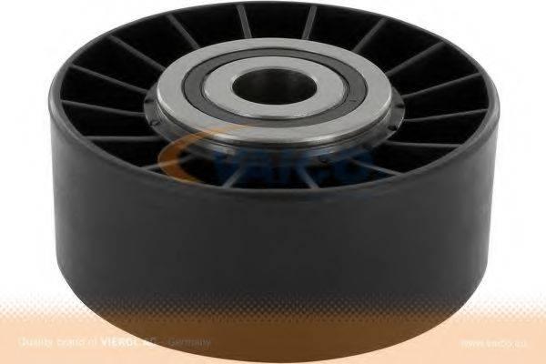 VAICO V300128 Паразитный / ведущий ролик, поликлиновой ремень