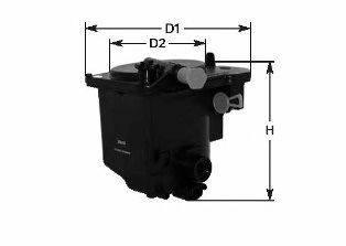 CLEAN FILTERS MGC1683 Топливный фильтр