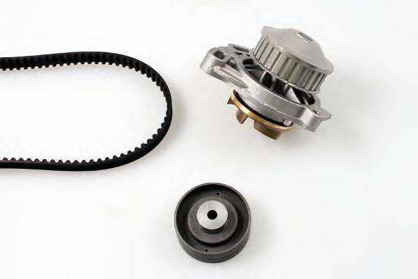 HEPU PK05260 Водяной насос + комплект зубчатого ремня