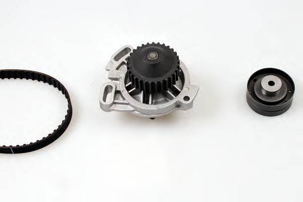 HEPU PK05340 Водяной насос + комплект зубчатого ремня