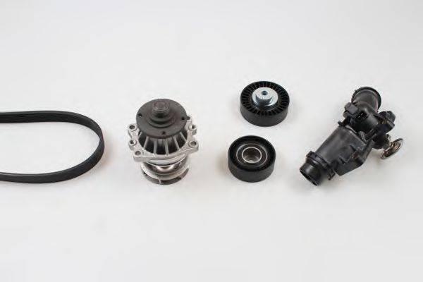 GK K980513ATH Водяной насос + комплект ручейковых ремней