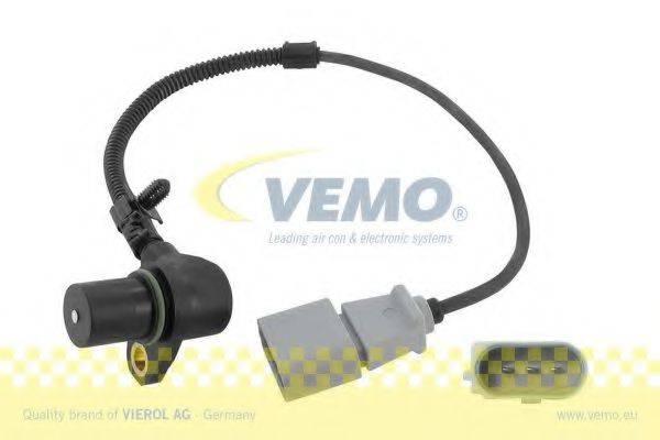 Датчик импульсов; Датчик, частота вращения; Датчик импульсов, маховик; Датчик частоты вращения, управление двигателем VEMO V10-72-0907