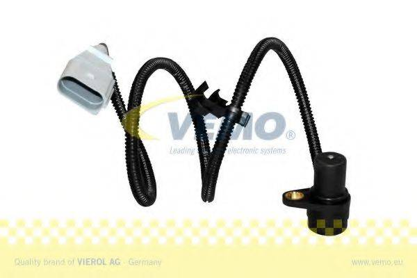 Датчик импульсов; Датчик, частота вращения; Датчик импульсов, маховик; Датчик частоты вращения, управление двигателем VEMO V10-72-0967