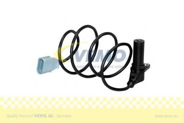 Датчик импульсов; Датчик, частота вращения; Датчик импульсов, маховик; Датчик частоты вращения, управление двигателем VEMO V10-72-0993