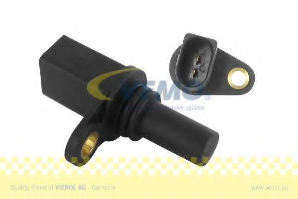 Датчик импульсов; Датчик, частота вращения; Датчик импульсов, маховик; Датчик частоты вращения, управление двигателем VEMO V10-72-0996