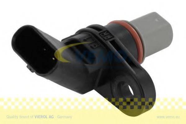 Датчик, частота вращения; Датчик частоты вращения, управление двигателем; Датчик, положение распределительного вала VEMO V10-72-1120