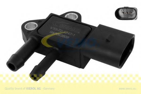 Датчик, давление выхлопных газов VEMO V10-72-1247-1