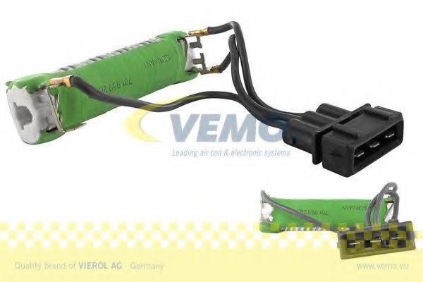 Дополнительный резистор, электромотор - вентилятор радиатора VEMO V10-79-0011