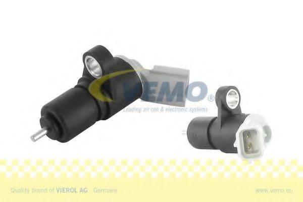 Датчик импульсов; Датчик, частота вращения; Датчик импульсов, маховик; Датчик частоты вращения, управление двигателем VEMO V49-72-0008