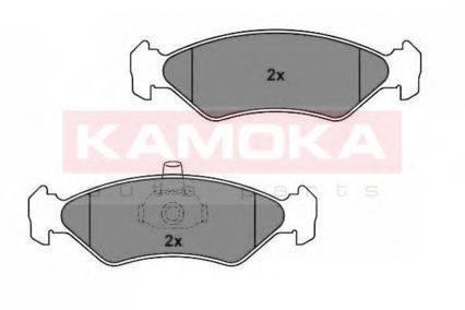 KAMOKA JQ1012164 Комплект тормозных колодок, дисковый тормоз