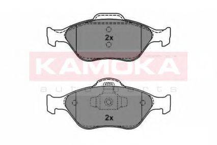 KAMOKA JQ1012788 Комплект тормозных колодок, дисковый тормоз
