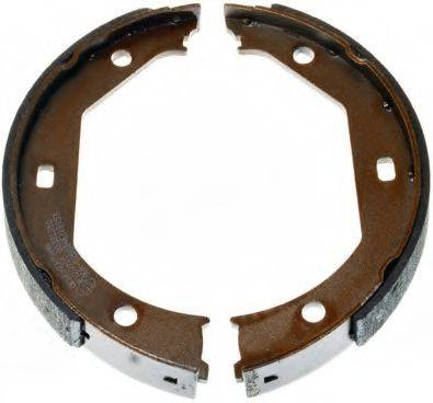 DENCKERMANN B120185 Комплект тормозных колодок, стояночная тормозная система