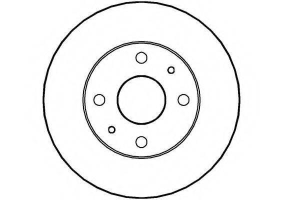 NATIONAL NBD213 Тормозной диск