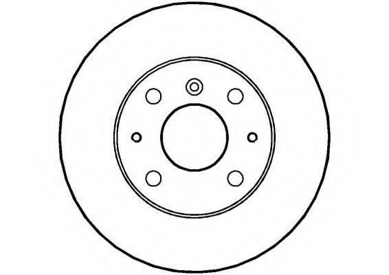 NATIONAL NBD214 Тормозной диск
