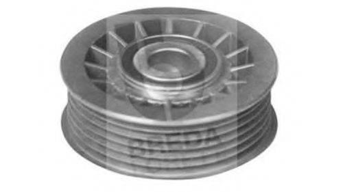 BREDA LORETT POA1456 Паразитный / ведущий ролик, поликлиновой ремень