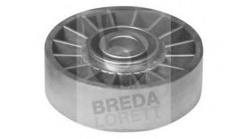 BREDA LORETT POA1457 Паразитный / ведущий ролик, поликлиновой ремень