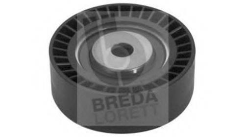 BREDA LORETT POA3017 Паразитный / ведущий ролик, поликлиновой ремень