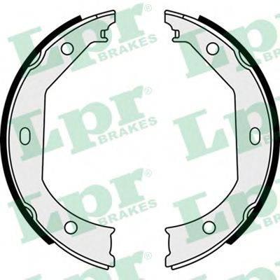 LPR 08090 Комплект тормозных колодок, стояночная тормозная система