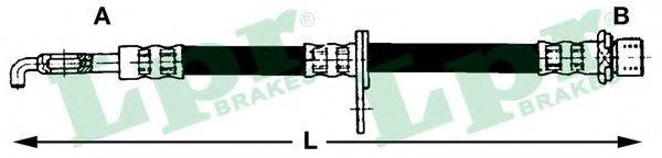 LPR 6T48092 Тормозной шланг