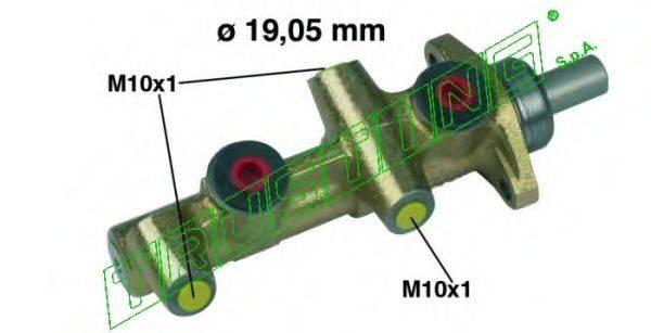 TRUSTING PF124 Главный тормозной цилиндр
