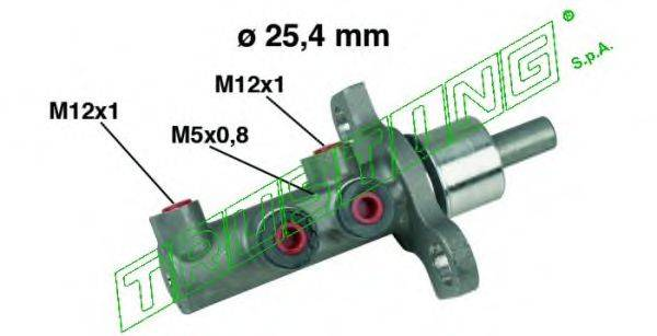 TRUSTING PF521 Главный тормозной цилиндр