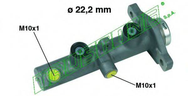 TRUSTING PF579 Главный тормозной цилиндр