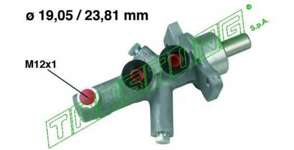 TRUSTING PF633 Главный тормозной цилиндр