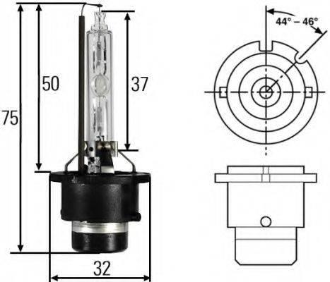 HELLA 8GS007949261 Лампа накаливания, фара рабочего освещения; Лампа накаливания, фара дальнего света; Лампа накаливания, основная фара; Лампа накаливания; Лампа накаливания, основная фара; Лампа накаливания, фара дальнего света