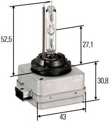 HELLA 8GS009028111 Лампа накаливания, фара рабочего освещения; Лампа накаливания, фара дальнего света; Лампа накаливания, основная фара; Лампа накаливания; Лампа накаливания, основная фара
