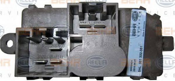 HELLA 5HL351332351 Регулятор, вентилятор салона