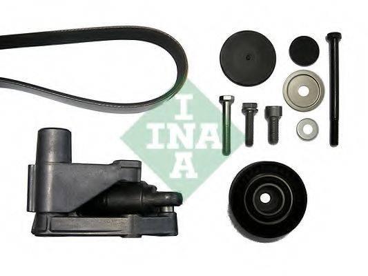 INA 530049610 Поликлиновой ременный комплект