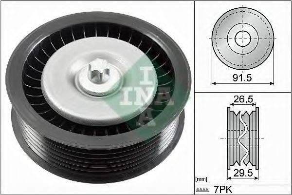 INA 532080810 Паразитный / ведущий ролик, поликлиновой ремень