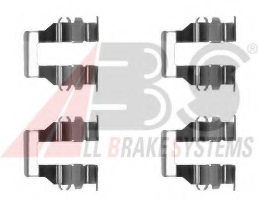 Комплектующие, колодки дискового тормоза A.B.S. 1199Q