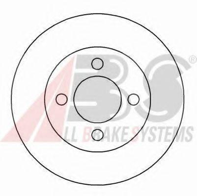 A.B.S. 15942 Тормозной диск