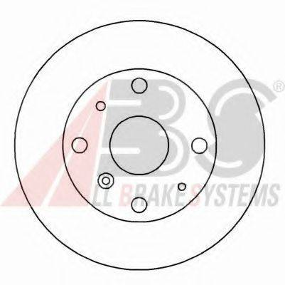 A.B.S. 15943 Тормозной диск