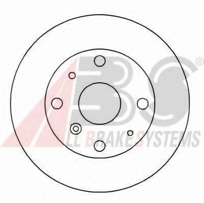 A.B.S. 15943OE Тормозной диск