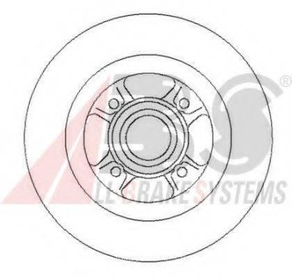 A.B.S. 16319 Тормозной диск