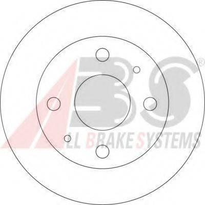 A.B.S. 17075 Тормозной диск